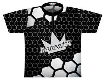 Brunswick Bowling Jersey by Logo Infusion - 0503BR - Front of Jersey