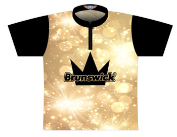 Brunswick Bowling Jersey by Logo Infusion - 0521BR - Front of Jersey