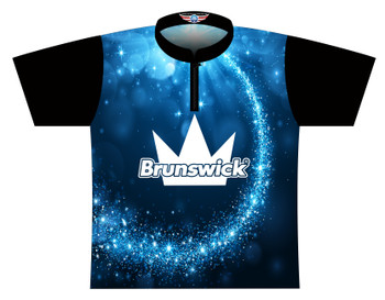 Brunswick Bowling Jersey by Logo Infusion - 0522BR - Front of Jersey