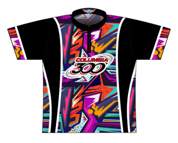 Columbia 300 Bowling Jersey by Logo Infusion - 0312CO - Front of Jersey