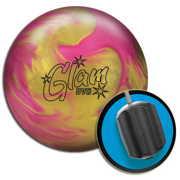DV8 Glam Bowling Ball and Core