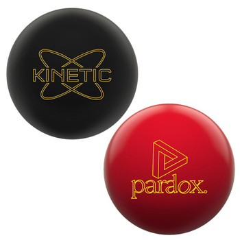 Track Kinetic Obsidian and Paradox Red 2 Ball Package
