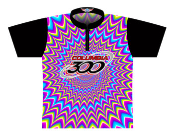 Columbia 300 Bowling Jersey by Logo Infusion - 0313CO - Front of Jersey