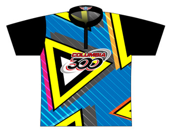 Columbia 300 Bowling Jersey by Logo Infusion - 0314CO - Front of Jersey