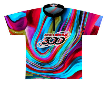 Columbia 300 Bowling Jersey by Logo Infusion - 0315CO - Front of Jersey
