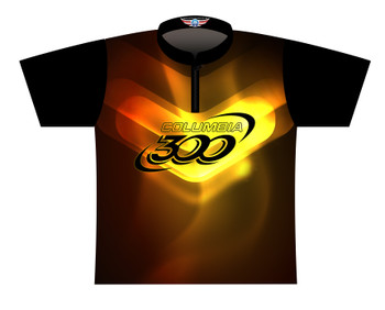Columbia 300 Dye Sublimated Bowling Shirt - Style 0316CO - Front of Jersey