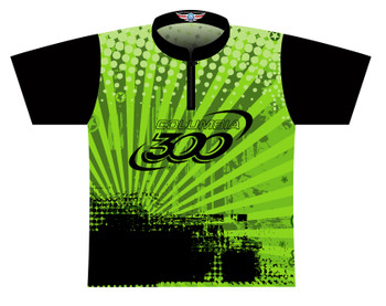 Columbia 300 Dye Sublimated Bowling Shirt - Style 0317CO - Front of Jersey