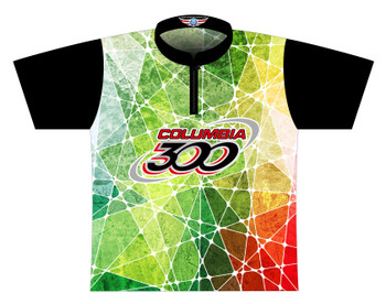 Columbia 300 Dye Sublimated Bowling Shirt - Style 0504CO - Front of Jersey