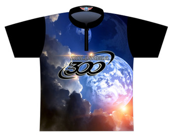 Columbia 300 Dye Sublimated Bowling Shirt - Style 0528CO - Front of Jersey