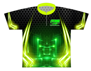 Storm Dye Sublimated Bowling Shirt - Style 0081ST - Front of Jersey