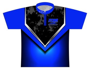 Storm Dye Sublimated Bowling Shirt - Style 0131ST - Front of Jersey