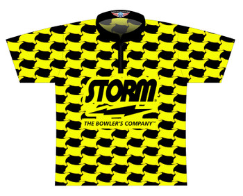 Storm Dye Sublimated Bowling Shirt - Style 0489ST - Front of Jersey