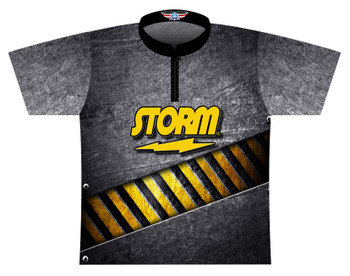 Storm Dye Sublimated Bowling Shirt - Style 0593ST - Front of Jersey