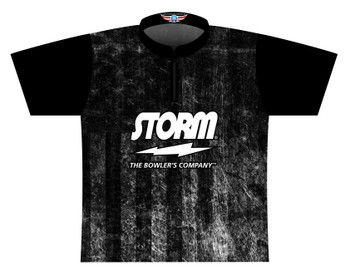 Storm Dye Sublimated Bowling Shirt - Style 0609ST - Front of Jersey