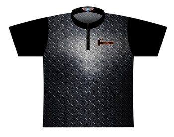 Hammer Dye Sublimated Bowling Shirt - Style 0359HM - Front of Jersey