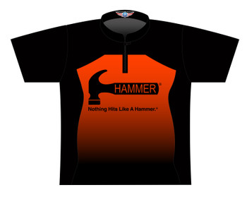 Hammer Dye Sublimated Bowling Shirt - Style 0358HM - Front of Jersey