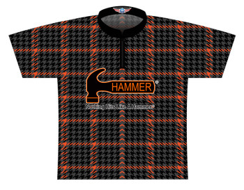 Hammer Dye Sublimated Bowling Shirt - Style 0484HM - Front of Jersey