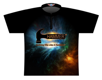 Hammer Dye Sublimated Bowling Shirt - Style 0542HM - Front of Jersey