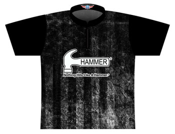 Hammer Dye Sublimated Bowling Shirt - Style 0609HM - Front of Jersey