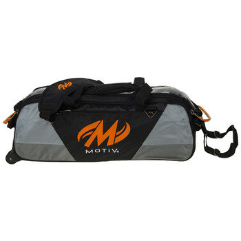 Motiv Ballistix 3 Ball Tote Roller Black/Orange