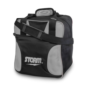 Storm 1 Ball Solo Bowling Bag Black/Silver
