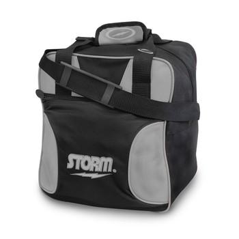 Storm 1 Ball Solo Bowling Bag Black/Silver