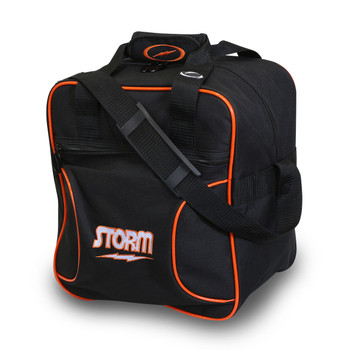 Storm 1 Ball Solo Bowling Bag Black/Orange