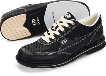 Dexter Turbo Pro Mens Bowling Shoes Black Wide Width