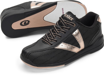 Dexter Vicky Women's Bowling Shoes Black/Rose Gold
