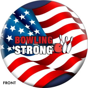 OTTB Bowling Strong US Flag Bowling Ball