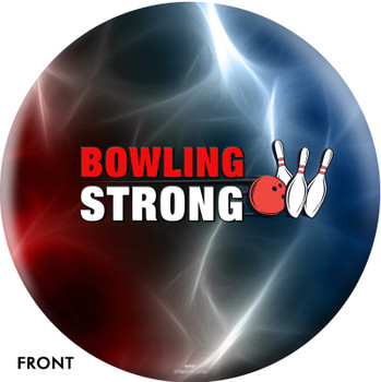 OTTB Bowling Strong Get The Ball Rolling Bowling Ball