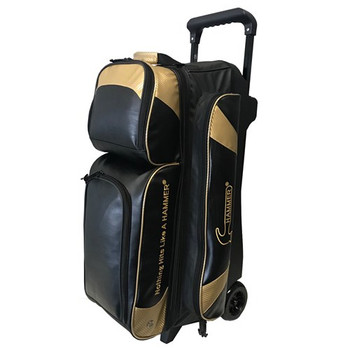 Hammer Premium 3 Ball Roller Black/Gold