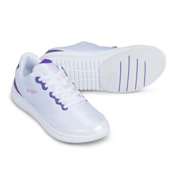 KR Strikeforce Glitz Women's Bowling Shoes White/Purple
