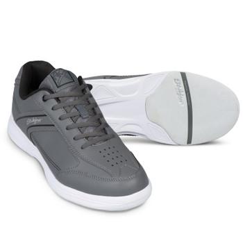 KR Strikeforce Flyer Lite Mens Bowling Shoes Slate/Black setup