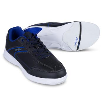 KR Strikeforce Flyer Lite Mens Bowling Shoes Black/Indigo