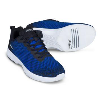 KR Strikeforce Aviator Mens Bowling Shoes Black/Blue