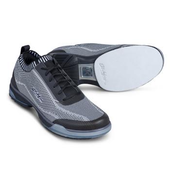 KR Strikeforce Tour Knit Mens Bowling Shoes - Right Hand - Black/Grey