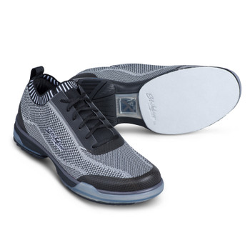 KR Strikeforce Tour Knit Mens Bowling Shoes - Right Hand - Black/Grey