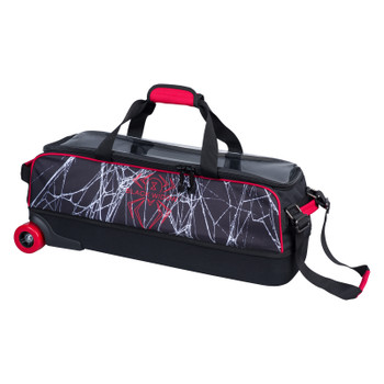 Hammer Dye Sub Slim Triple Roller Widow Black/Red