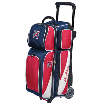 KR Strikeforce Fast Triple Roller Brick Red/White/Blue