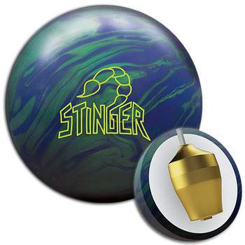 Ebonite Stinger Hybrid Bowling Ball and Core