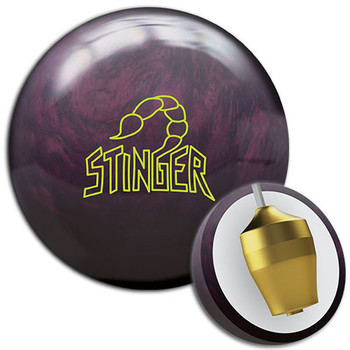 Ebonite Stinger Pearl Bowling Ball and Core