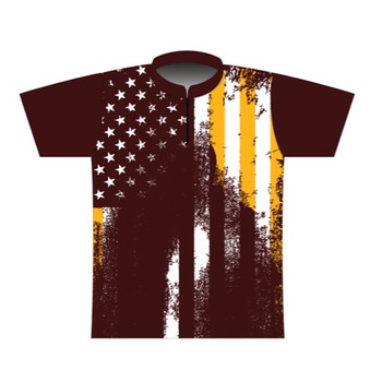 BBR Washington Grunge Nation Dye Sublimated Jersey