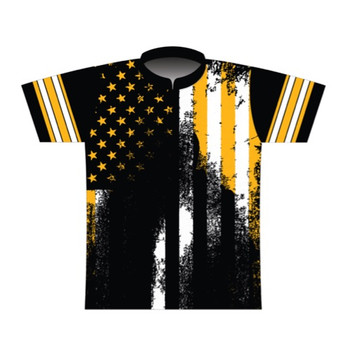 BBR Pittsburgh Grunge Nation Dye Sublimated Jersey