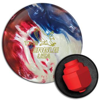 900 Global Eagle USA Bowling Ball and Core
