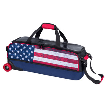 KR Strikeforce Fast Slim Triple Roller - American Flag