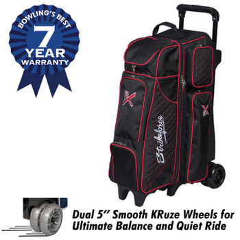 KR Strikeforce Royal Flush 4X4 Roller Black/Red