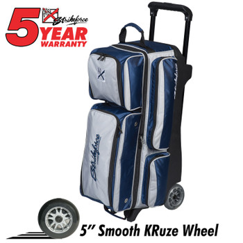 KR Strikeforce Konvoy Triple Roller Navy/Silver