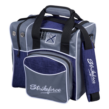 KR Strikeforce Flexx 1 Ball Tote Grey/Navy