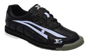 3G Tour Womens Ultra Bowling Shoes Black/Periwinkle Right Handed